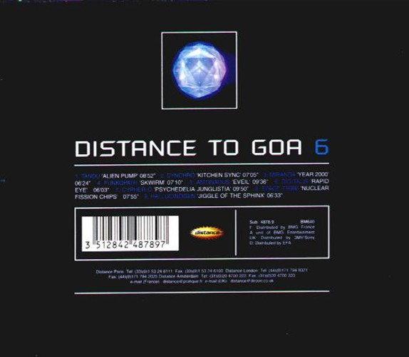 Various Artists - Distance to Goa 6: Back