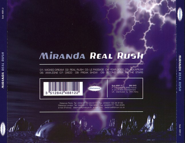 Miranda - Real Rush: Back