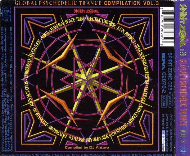 Various Artists - Global Psychedelic Trance 3: Back