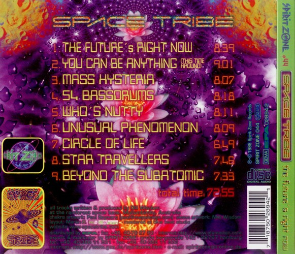 Space Tribe - The Future's Right Now: Back