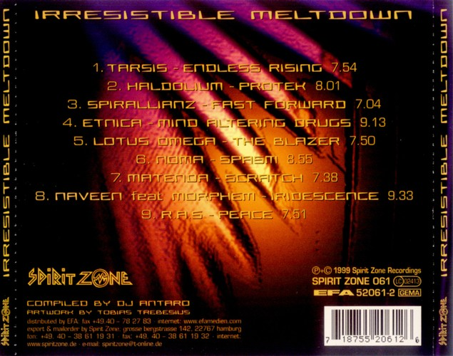 Various Artists - Irresistible Meltdown: Back