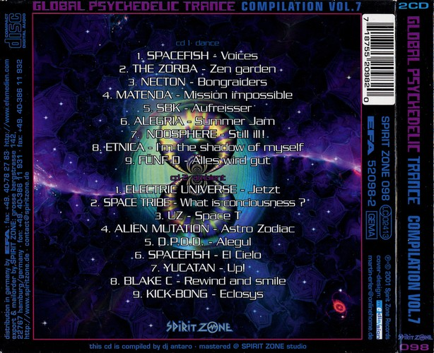 Various Artists - Global Psychedelic Trance 7: Back