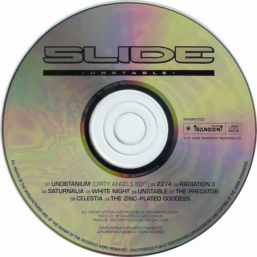Slide - Unstable: CD