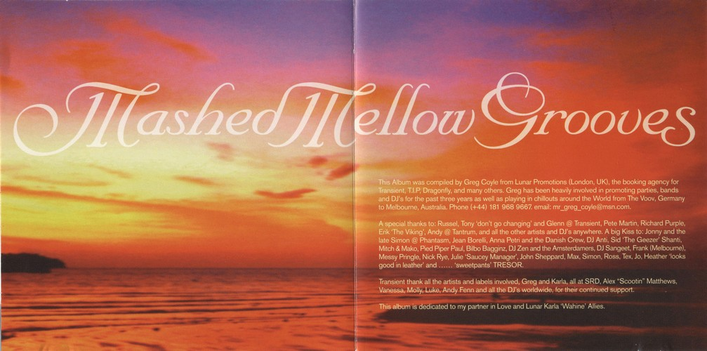 Various Artists - Mashed Mellow Grooves 1: Inside