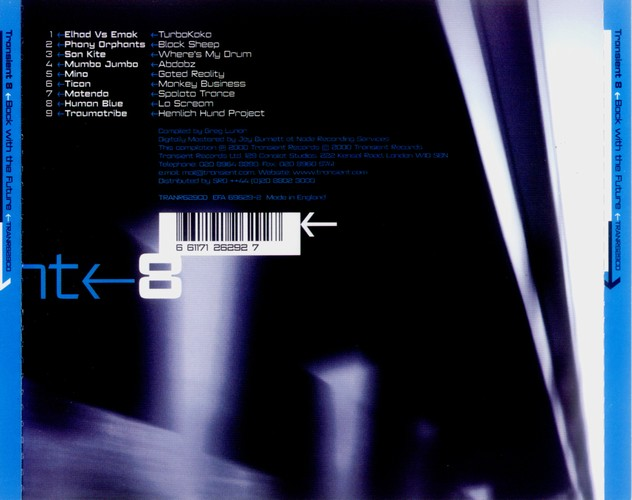 Various Artists - Transient 8: Back