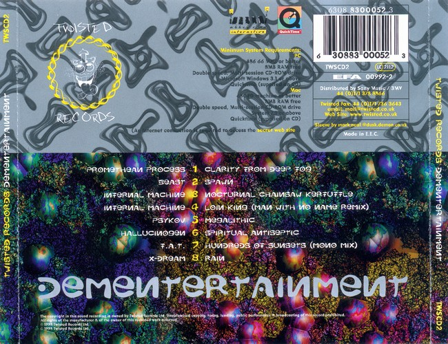 Various Artists - DeMenTertainment: Back