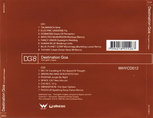 Various Artists - Destination Goa 8: Back