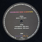 Growling Mad Scientists - Jaws EP