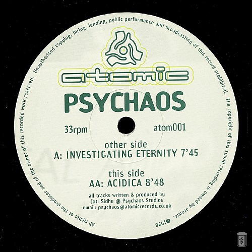 Psychaos - Investigating Eternity EP: Side A