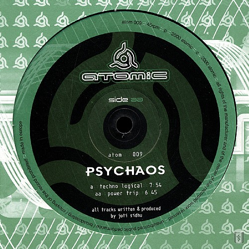 Psychaos - Power Trip EP: Side A