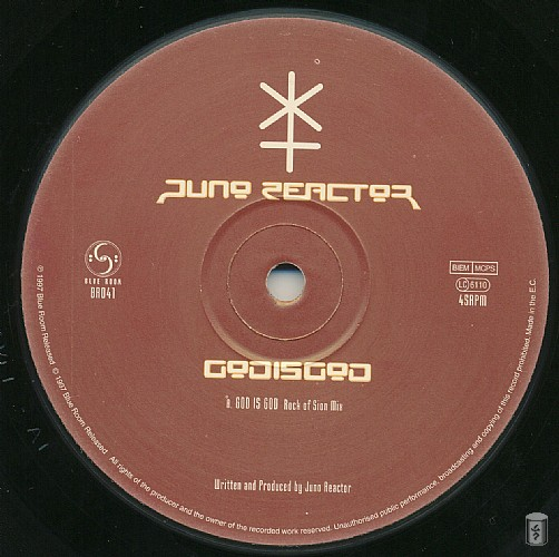 Juno Reactor - God is God EP: Side A