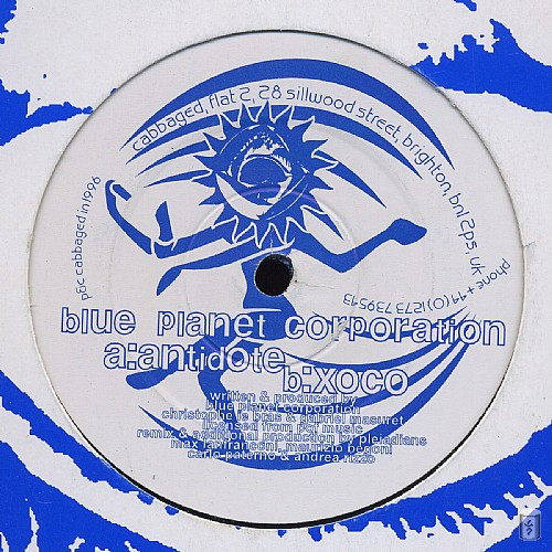 Blue Planet Corporation - Xoco EP: Side A