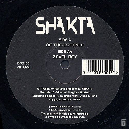 Shakta - Of The Essence EP: Side A