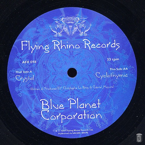 Blue Planet Corporation - Cyclothymic EP: Side A