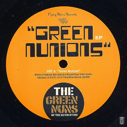 Green Nuns of the Revolution - Green Nunions EP: Side A