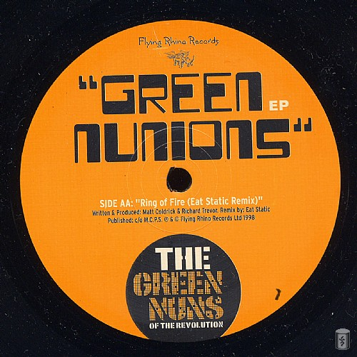 Green Nuns of the Revolution - Green Nunions EP: Side B