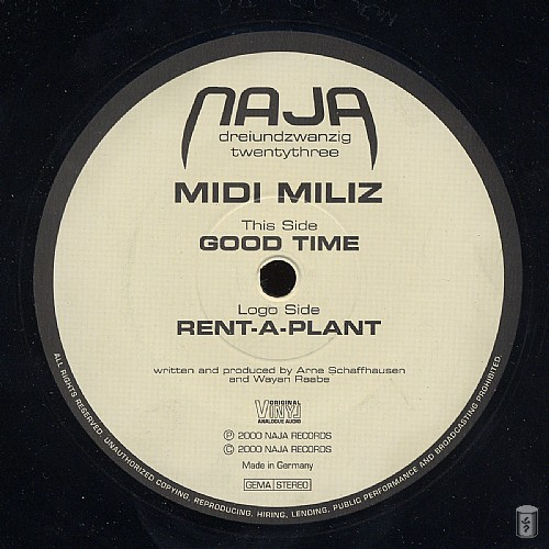 Midi Miliz - Good Time EP: Side A