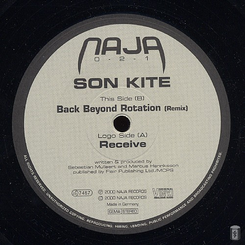Son Kite - Back Beyond Rotation EP: Side A
