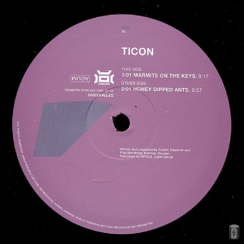 Ticon - Marmite on the Keys EP: Side A