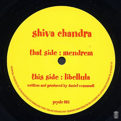 Shiva Chandra - Mendrum EP: Side A