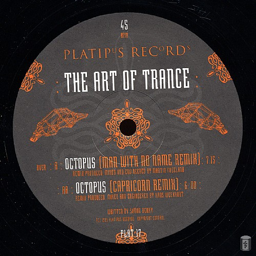 The Art of Trance - Octopus EP: Side A
