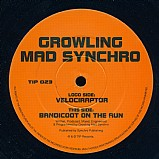 Growling Mad Synchro - Velociraptor EP