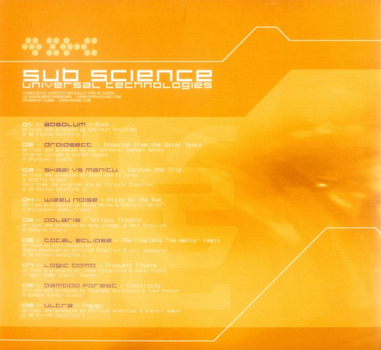 Various Artists - Sub Science: Inside