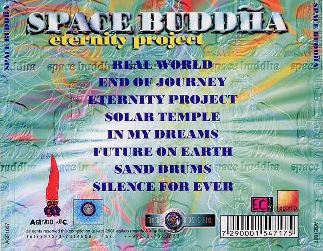 Space Buddha - Eternity Project: Back