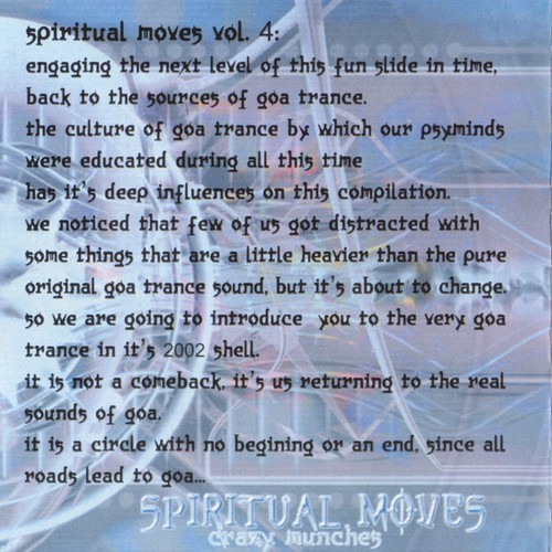 Various Artists - Spiritual Moves 4: Crazy Munchies: Inside