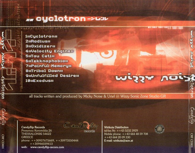 Wizzy Noise - Cyclotron: Back