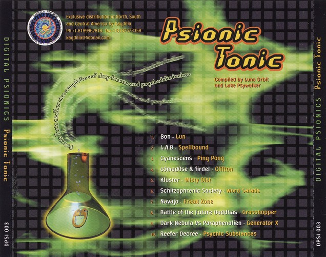 Various Artists - Psionic Tonic: Back