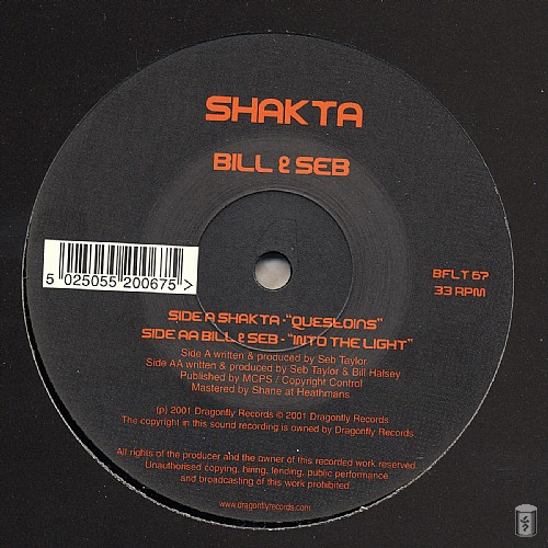 Various Artists - Shakta and Bill & Seb EP: Side A