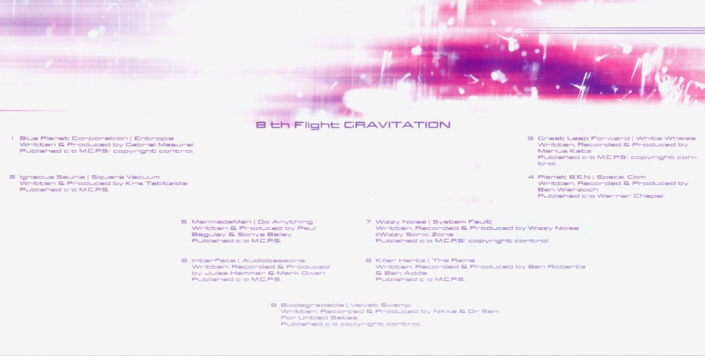 Various Artists - 8th Flight - Gravitation: Inside