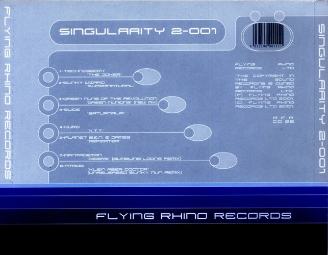 Various Artists - Singularity 2-001: Back