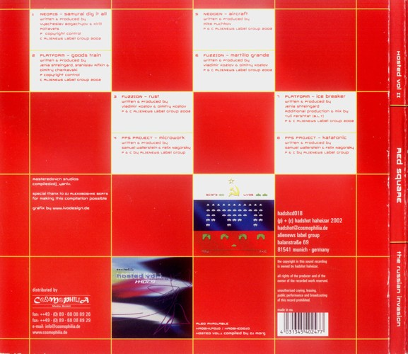 Various Artists - Hosted 2 - Red Square: Back
