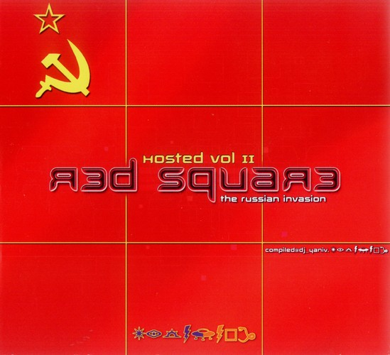 Various Artists - Hosted 2 - Red Square: Front