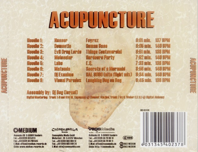 Various Artists - Acupuncture: Back