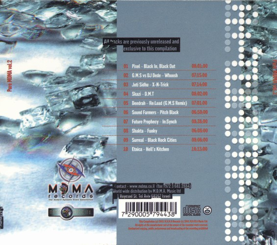 Various Artists - Pure MDMA Selected Vibes 2: Back