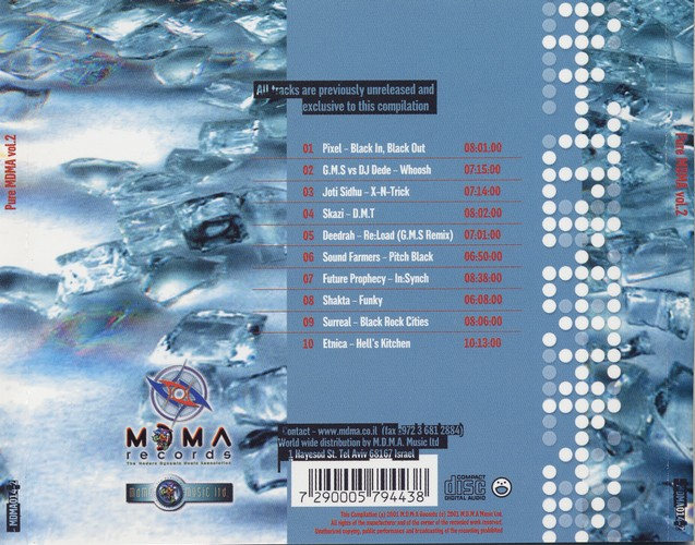 Various Artists - Pure MDMA Selected Vibes 2: Back 2