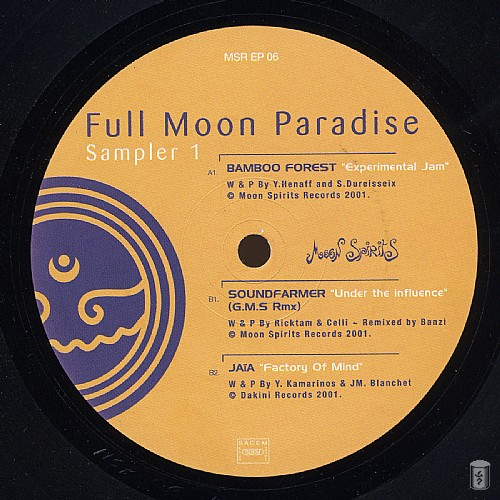 Various Artists - Full Moon Paradise Sampler 1 EP: Side A