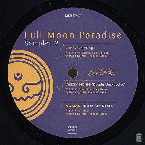 Various Artists - Full Moon Paradise Sampler 2 EP: Side A