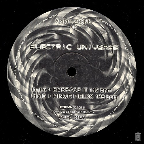 Electric Universe - Embrace EP: Side A