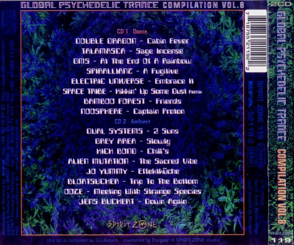 Various Artists - Global Psychedelic Trance 8: Back