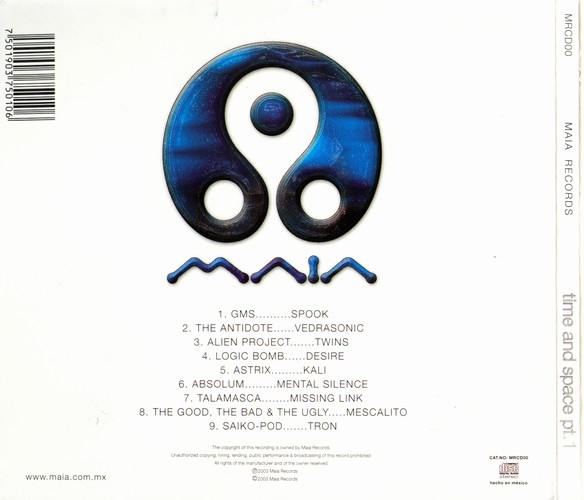 Various Artists - Time & Space Part 1: Back