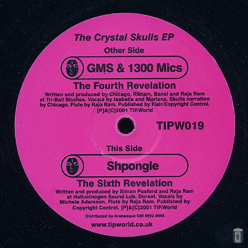 Various Artists - The Crystal Skulls EP: Side A