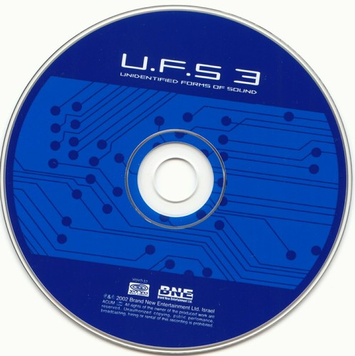 Various Artists - UFS 3 - Unidentified Forms of Sound: CD