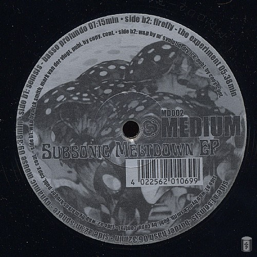 Various Artists - Subsonic Meltdown EP: Side A
