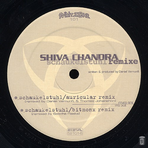Shiva Chandra - Schaukelstuhl Remixes EP: Side A