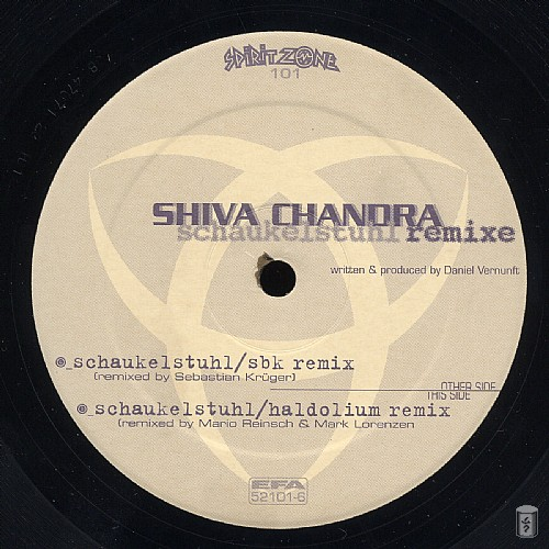 Shiva Chandra - Schaukelstuhl Remixes EP: Side C