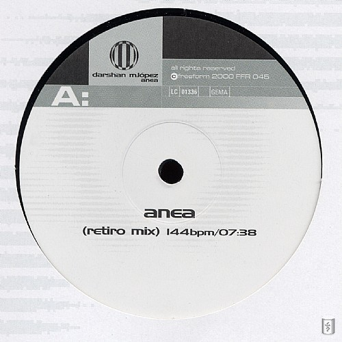 Darshan M. Lopez - Anea EP: Side A